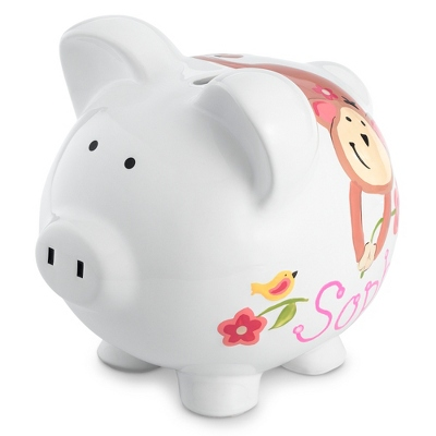 Personalized Piggy Bank for Baby