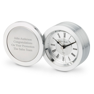 Silver Coin Clock - Home Clocks