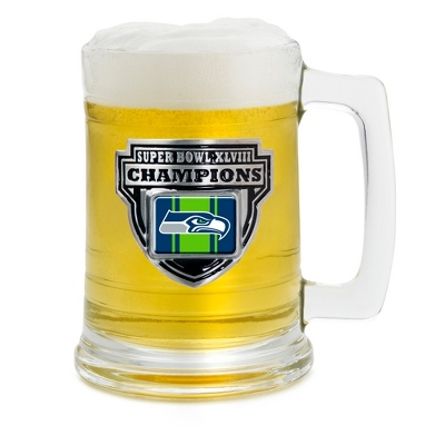 Super Bowl XLVIII Beer Mug