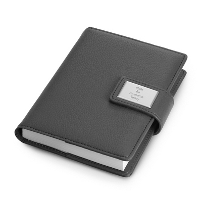 Small Gray Journal - Business Gifts For Her