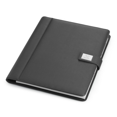 Large Grey Padfolio - Business Gifts For Her