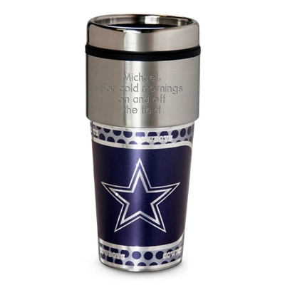 Cowboys Metallic Tumbler - Sports