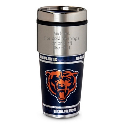 Bears Metallic Tumbler - UPC 825008019911