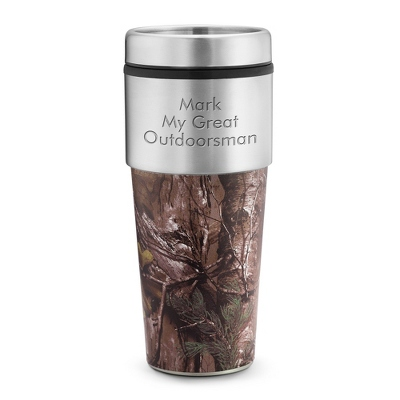 Real Tree Tumbler - Mugs & Travel Mugs for Him