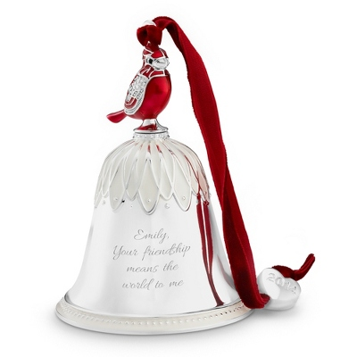 2014 Cardinal Annual Bell Ornament - All Christmas Ornaments