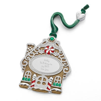 2014 Gingerbread House Ornament - All Christmas Ornaments