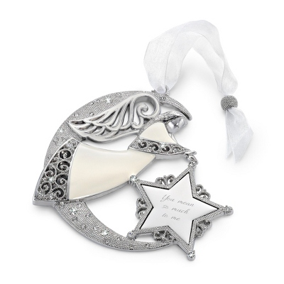 2014 Make-A-Wish Personalized Angel Ornament - All Christmas Ornaments