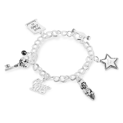 2014 Graduation Bracelet with complimentary Filigree Keepsake Box - Fashion Bracelets & Bangles