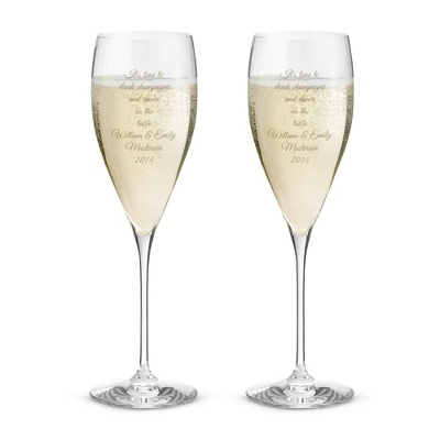 Riedel Vinum XL Champagne Glasses Set of 2