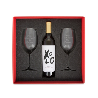 Riedel Vinum Cabernet Wine Glass Set with Gift Box