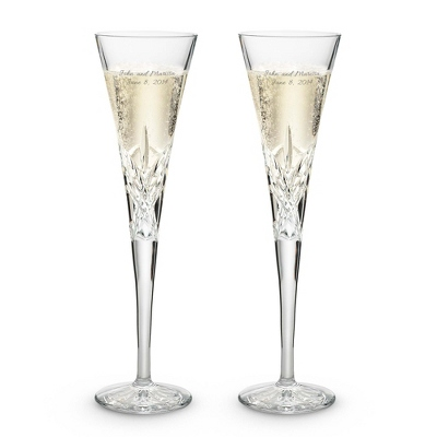 Personalized Toasting Flutes Wedding Party