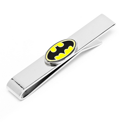 Batman Tie Bar with complimentary Weave Texture Valet Box - $35.00