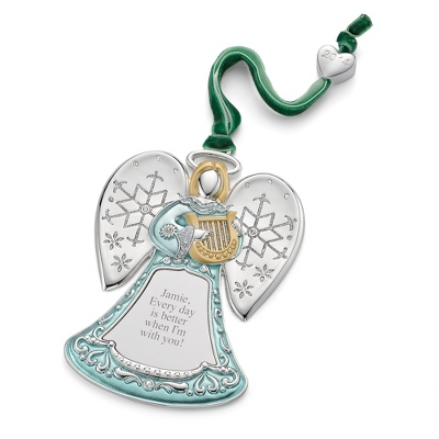 2014 Personalized Christmas Angel Ornament