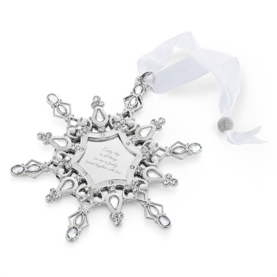2014 Make-A-Wish Personalized Snowflake Ornament - All Ornaments