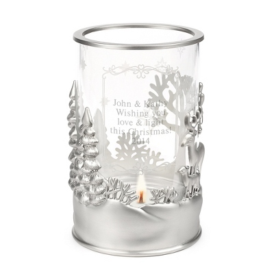 Nature's Beauty Candle Holder
