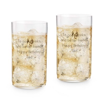Riedel Classic Long Drink Set of 2 Glasses