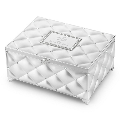 Frosted Elegance Music Box w/ Download Your Own - UPC 825008026148