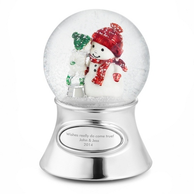 Make-A-Wish Snowman Snow Globe