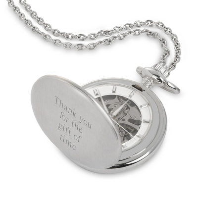 Ladies White Pendant Watch - $85.00