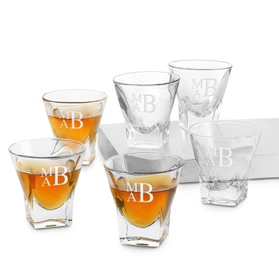 Set of Six Fusion Shot Glasses - Barware & Accessories