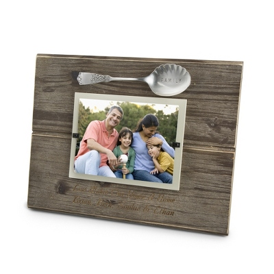 Family Spoon Frame - New Frames & Photo Storage
