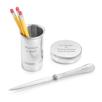 Salisbury 3 Piece Desk Set - Business Gifts For Him
