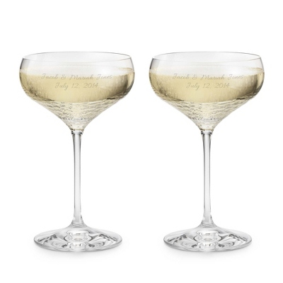 Vera Wang by Wedgewood Sequin Toasting Flutes