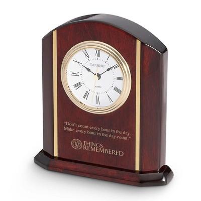 High Gloss Mahogany Clock - Clocks