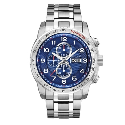 Men's Bulova Blue Marine Star Watch 96C121