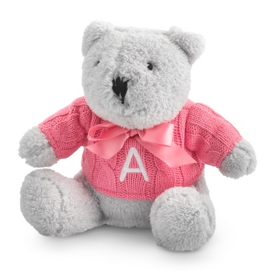 Raspberry Knit Sweater Bear - UPC 825008028180