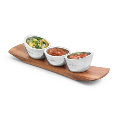 Nambe Trio Condiment Set - $185.00