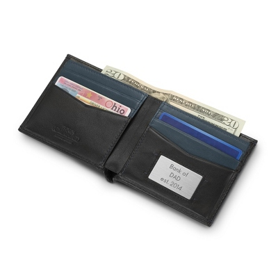 Personalized Mens Leather Wallets