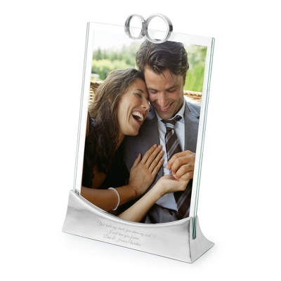 Glass Wedding Picture Frames