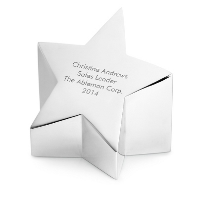 Nambe Metal Star Paperweight - $85.00