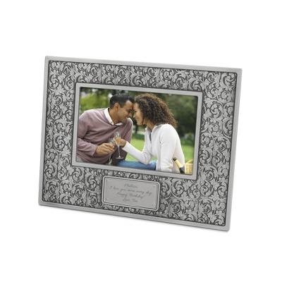 Tribeca Pewter Finish Arabesque Frame - Frames for Her