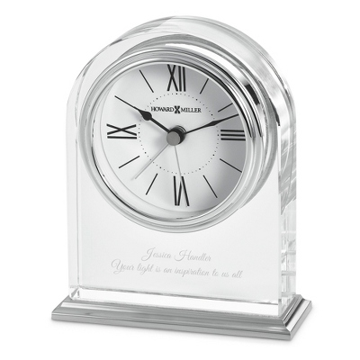 Howard Miller Optica Crystal Clock - $60.00