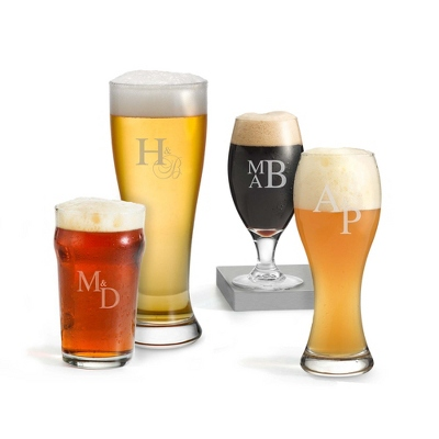 Craft Beer Set with Monogram - Signature Wedding