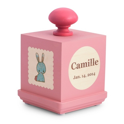 Pink Lullaby Kitty Music Box - UPC 825008030909