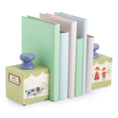 Baby's Favorite Green Book Ends - $70.00