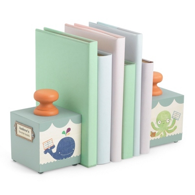 Baby's Favorite Blue Book Ends - $70.00
