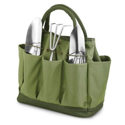 Green Thumb Embroidered Garden Tote - Totes & Accessories