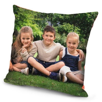 Personal Photo Throw Pillow