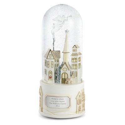 Personalized Village Angel Snow Globe by Things Remembered