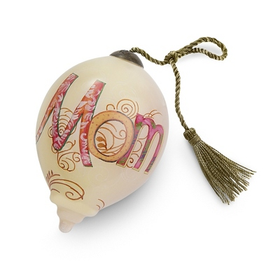 Hand Painted Mom Ornament - UPC 825008033320