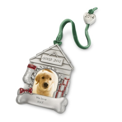 2014 Dog House Frame Christmas Ornament - $7.00