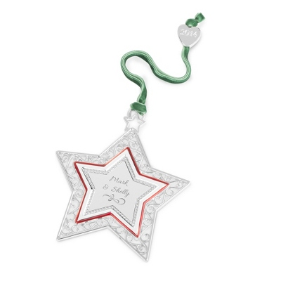 2014 Christmas Star Ornament - UPC 825008033467