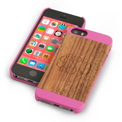 Pink Wood iPhone 5 Case - Tech & Phone Cases