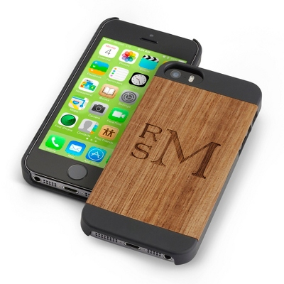Black Wood iPhone 5 Case