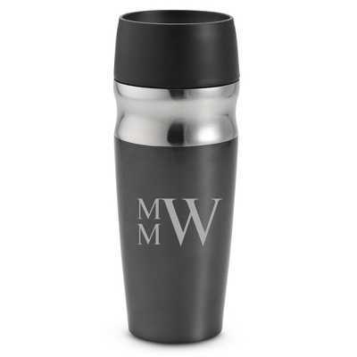 Personalized Travel Mug with Monogram