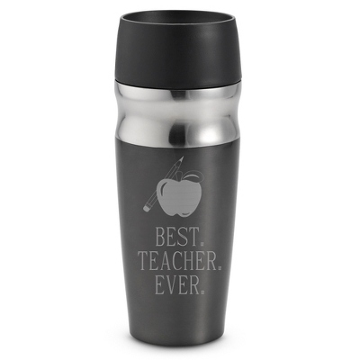 Personalized Travel Mug For Teachers - $25.00
